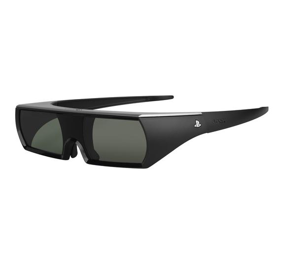 Sony Playstation 3 Active Shutter 3D Glasses $14.99 AC at techrabbit.com + FS