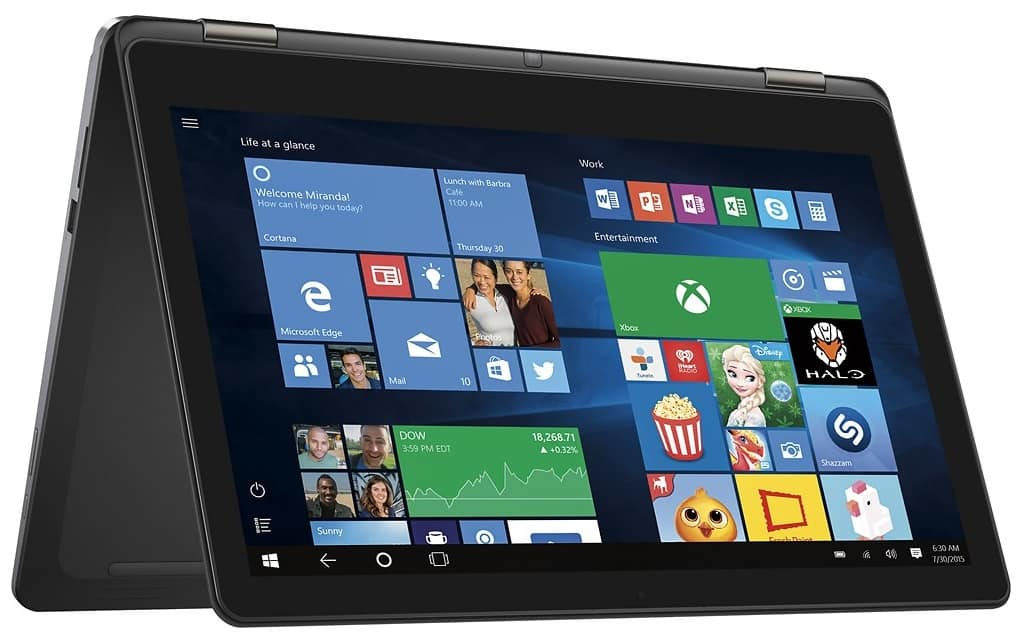 """Back Again - Open Box Dell - Inspiron 2-in-1 15.6"""" 4K Ultra HD Touch-Screen Laptop - Intel Core i7 - 8GB Memory - 1TB Hard Drive +FS $498 AC(Best buy student coupon required)"""