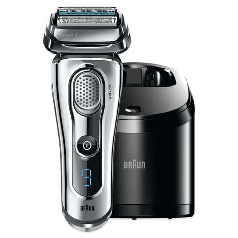 Braun Series 9-9295CC Wet & Dry Electric Shaver in Chrome (With Clean and Renew Station) $229.50 (Before Tax)