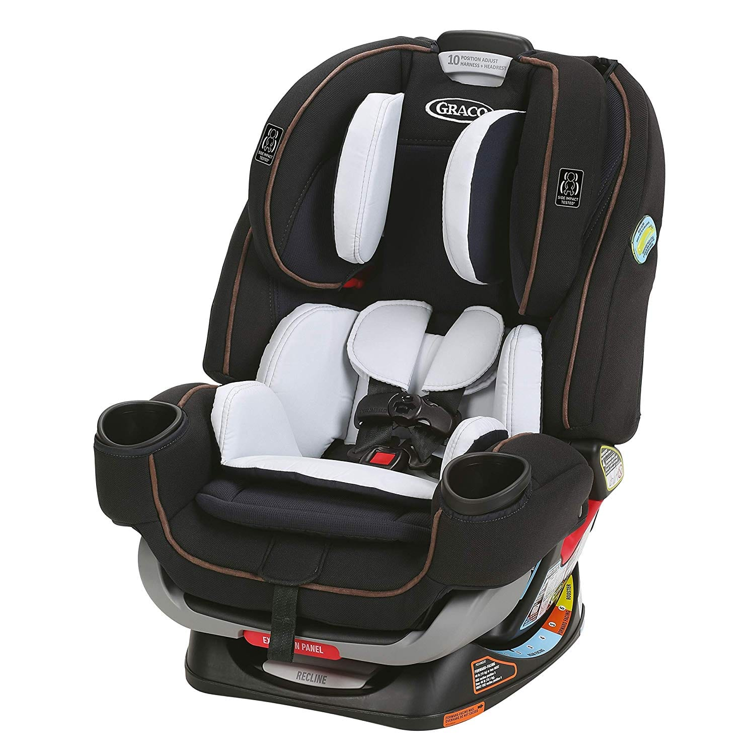 Graco 4Ever Extend2Fit 4 in 1 Car Seat, Hyde $248.67