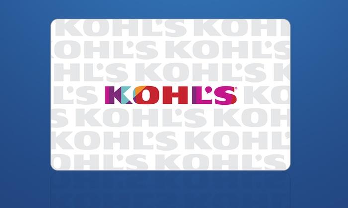 GROUPON :: Buy One $10 Kohl's eGift Card, Get a $10 Kohl's Bonus (Targeted)