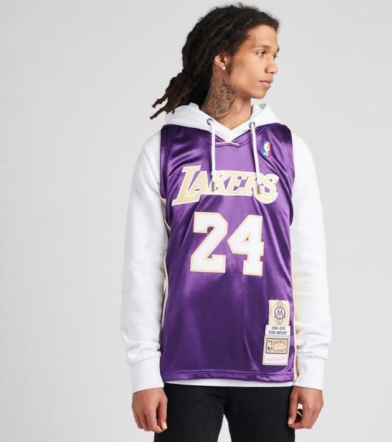 Mitchell and Ness Kobe Bryant #24 HOF Jersey Lakers  - $190