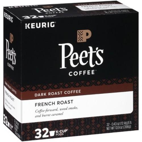 Peet's Kcup French roast $8.22
