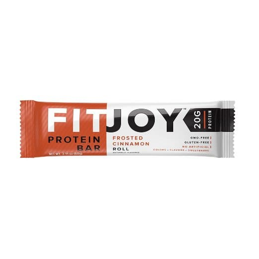 20% off on FITJOY protein bars on Amazon.. Some flavors under $18 with 5+ S&S.