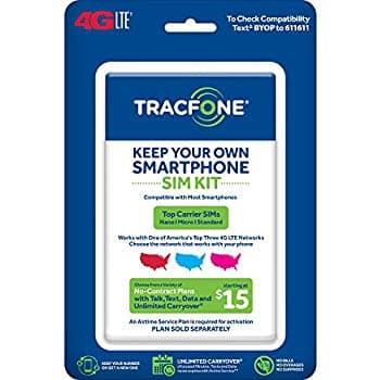 Add-On Item: TracFone Sim Cards Buy One Airtime, Get Second Free