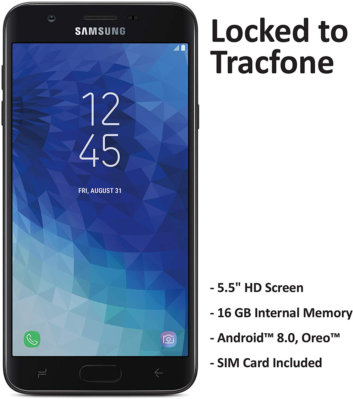 TracFone Samsung Galaxy J7 Crown 4G LTE Prepaid Smartphone @ $49.99