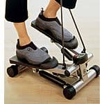 Mini Stepper with Resistance Cords plus Bonus CD - $27.99 + Shipping calculate @Galam.com
