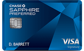 Chase Sapphire Preferred Credit Card 60K Points w/ $4K Spent in 1st 3-Mos (AF Not Waived)