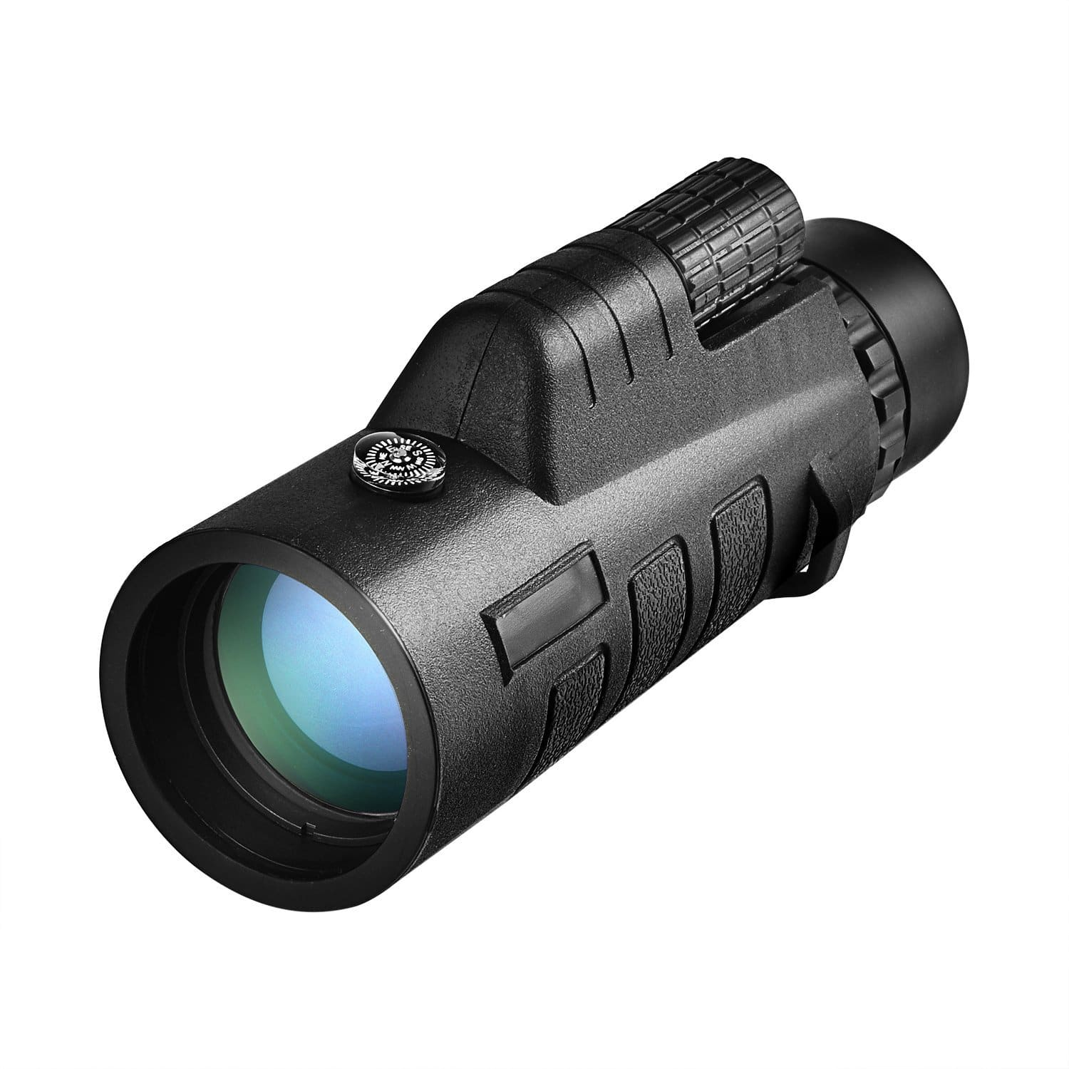 CVLIFE 12x50 Compact Monocular Telescope Pocket Mono Spotting Scope W/ Compass and Pouch for $8.99