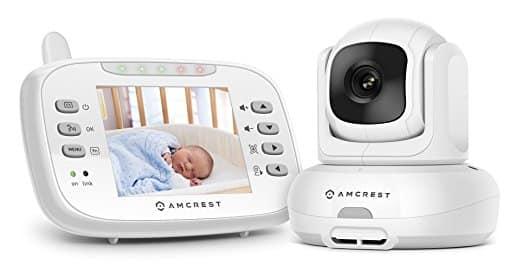 Amcrest Baby Monitor with two-way talk and night vision more than 35% Off - $79.99 +Free Shipping