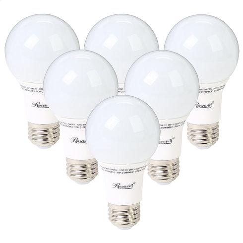 6 pack A19 Non-Dimmable LED Light Bulb, E26 Base, $23+ free shipping@Tanga
