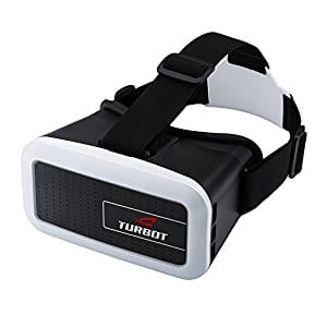 Turbot 3D Virtual Reality Headset with Adjustable Head Straps $5.97 (77%OFF)