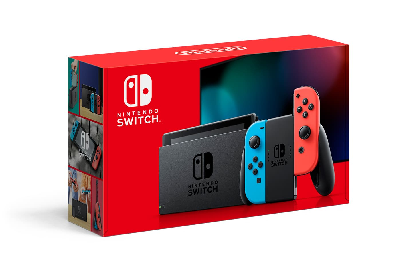 Nintendo Switch Console with Neon Blue & Red Joy-Con $284 YMMV Deal