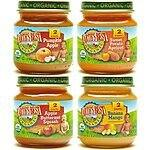 Earth's Best Organic Stage 2, Fruit Antioxidant Blends Variety Pack, 12 Count, 4 Ounce Jars $7.32 @amazon