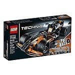 LEGO Technic 42026 Black Champion Racer Model Kit $12.99 FSSS@amazon