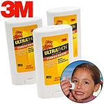 3 Ultrathon 3M Sunscreen SPF 50 Broad Spectrum Face Stick Water Resistant .5 Oz - $4.99 + Free Shipping  @ Walmart
