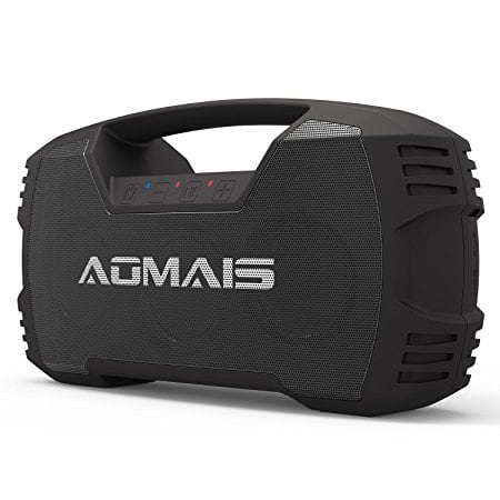 AOMAIS Go Bluetooth Speakers Waterproof 30W Wireless Stereo Pairing Booming Bass Speaker $51.99