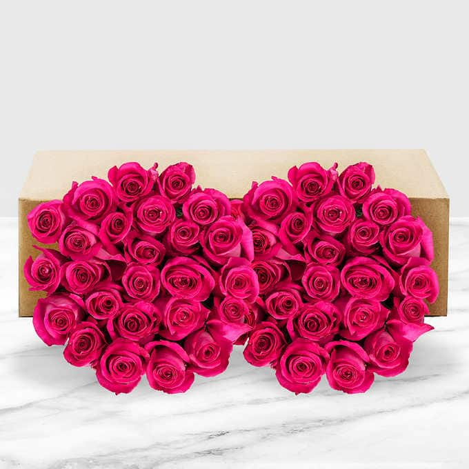 Costco Members: 50-Count Mother's Day Roses (Mult. Options) $39.99 + Free Shipping
