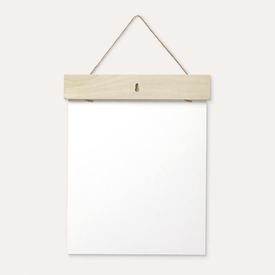 "Walgreens: 11""x14"" Wood Hanger Board Print $7.50"