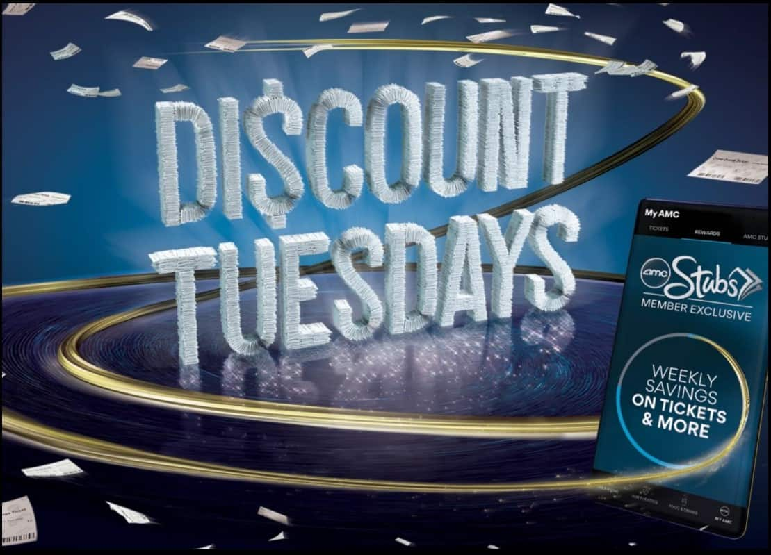AMC Theatres offering AMC Stub Members Discount Tuesdays w/tickets starting from $6.50