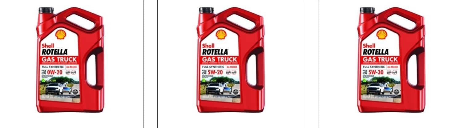 Free Shell Rotella Gas Truck Motor Oil (5w30, 0w20, 5w20) After Rebate