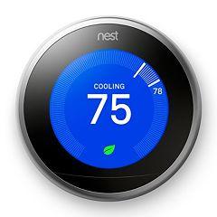Nest Learning Thermostat 3rd generation + $30 Kohls Cash - $199.99 + Free Shipping @Kohls