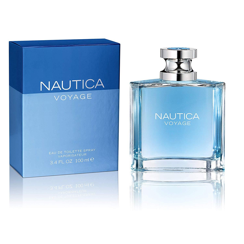 3.4oz Nautica Voyage Eau de Toilette Spray for Men $9.92 at Walmart