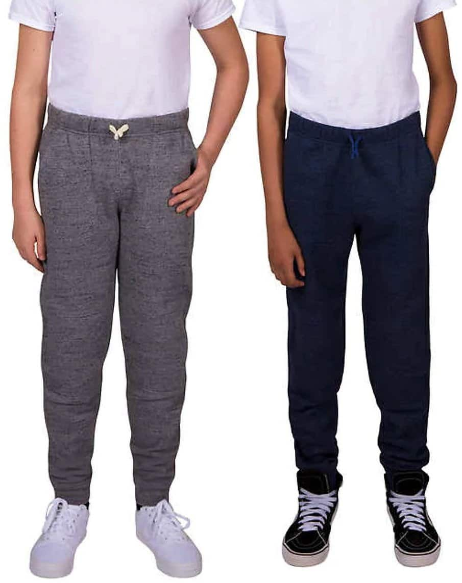 2-Pack Lee Youth Jogger(Navy and Gray) $9.99 + free shipping @ Costco