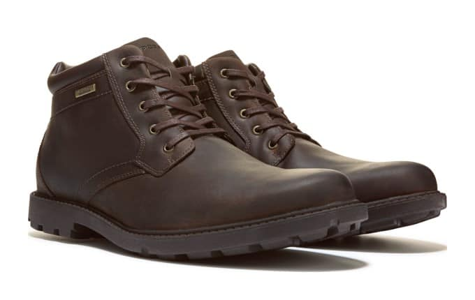 DSW: Rockport Men's Storm Surge Waterproof Lace Up Boot $32.99 + Free Shipping