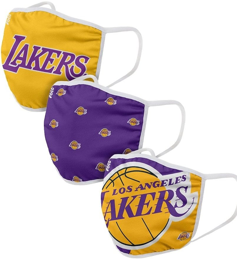 NBA Store: NBA Cloth Face Covering 3-Pack (Pre-Order) $17.49