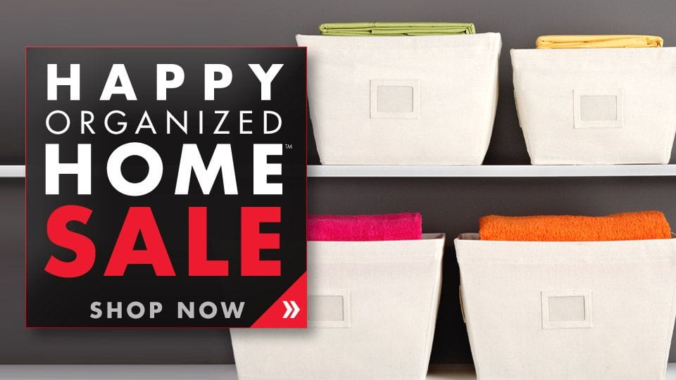 Happy Organized Home Sale