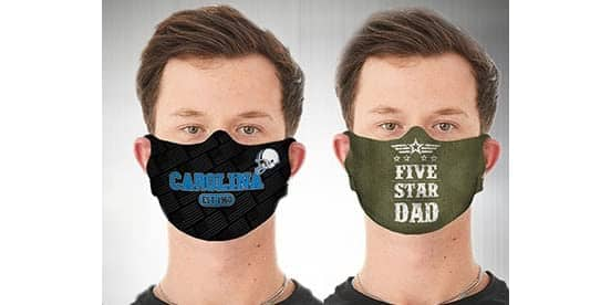 Woot!:  Father's Day / NFL Reusable Face Mask 2-Pack $10.99 + FS for Prime members