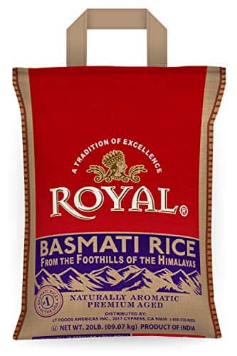 Walmart: Royal Basmati Rice, 20 Pound Bag $17.74 (Price for in-store purchase only)