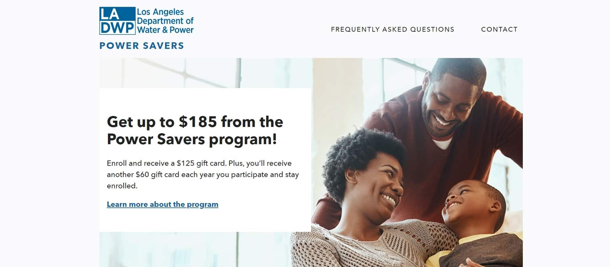 LADWP (Los Angeles Department Of Water and Power) Enroll Ecobee, Honeywell, Alarm.com, Lux, Vivinit, Sensi, Radio Thermostat, Nest Thermostat and receive FREE $125 Amazon gift card