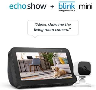Amazon: Echo Show 5 Charcoal with Blink Mini Indoor Smart Security Camera, 1080 HD with Motion Detection $74.99 + Free S/H