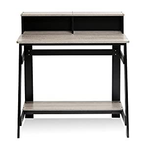 Amazon/Home Depot- Furinno Simplistic Computer Desk w/ Keyboard Tray (Light Cherry) $33.60| Furinno Simplistic A Frame Computer Desk (Black/French Oak Grey) $36.96 + Free S/H