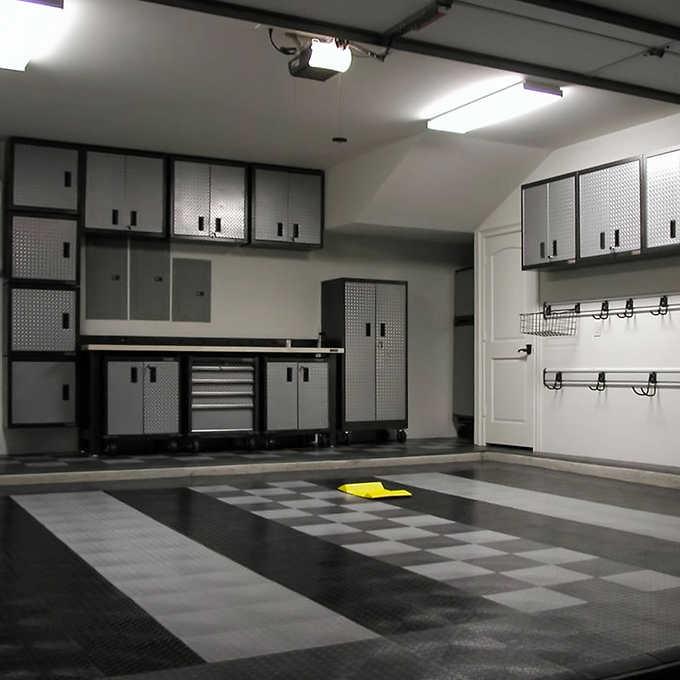 Costco: MotoFloor Modular Garage Flooring Tiles 48 square feet per Box 1' x 1' Tiles $89.99 + Free Shipping