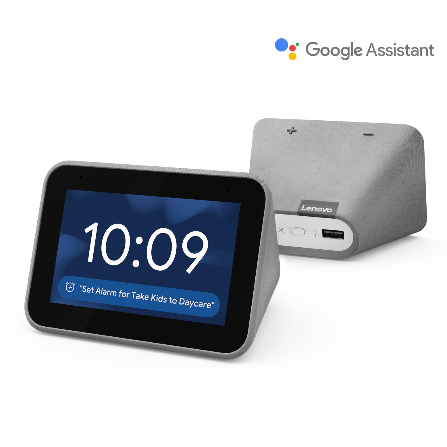 Walmart: Lenovo Smart Clock w/ Google Assistant $39 + Free S/H