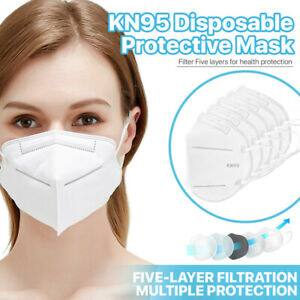 [50 Pack] KN95 Face Mask 95% Filter Disposable Respirator 5-Ply Protective Cover + Free S/H $11.9