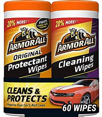 Amazon: Armor All Car Interior Cleaner Protectant Wipes - Cleaning for Cars, Truck, Motorcycle, 30 Count (Pack of 2) $6.88