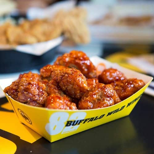 Buffalo Wild Wings: March Madness is finally back! Get 6 FREE BONELESS WINGS if a game goes into OT when you check-in at the bar or order through Blazin' Rewards