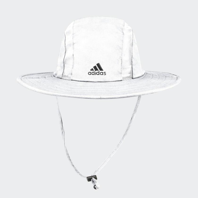Adidas: SAFARI HAT White $12 Size: S/M | Shipping is free w/ adidas Creators Club Membership