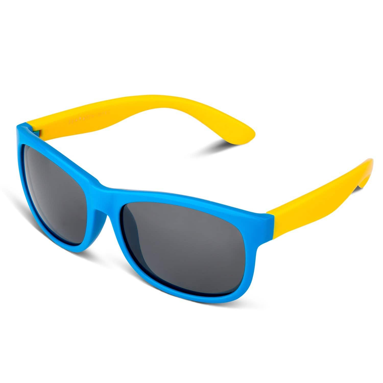 RIVBOS RBK023 Rubber Flexible Kids Polarized Sunglasses Glasses for $6.98 @amazon