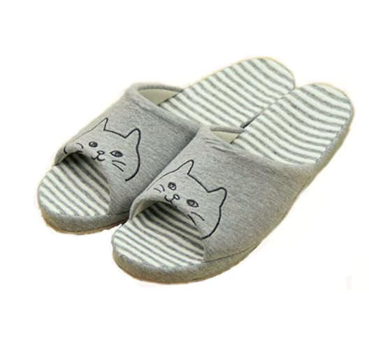 $7.98 for Lady House Slippers Women Bedroom Fuzzy Womens Cozy Slippers S170 @amazon