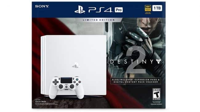 PlayStation 4 Pro 1TB Destiny 2 Bundle  Include FF XV $449.99