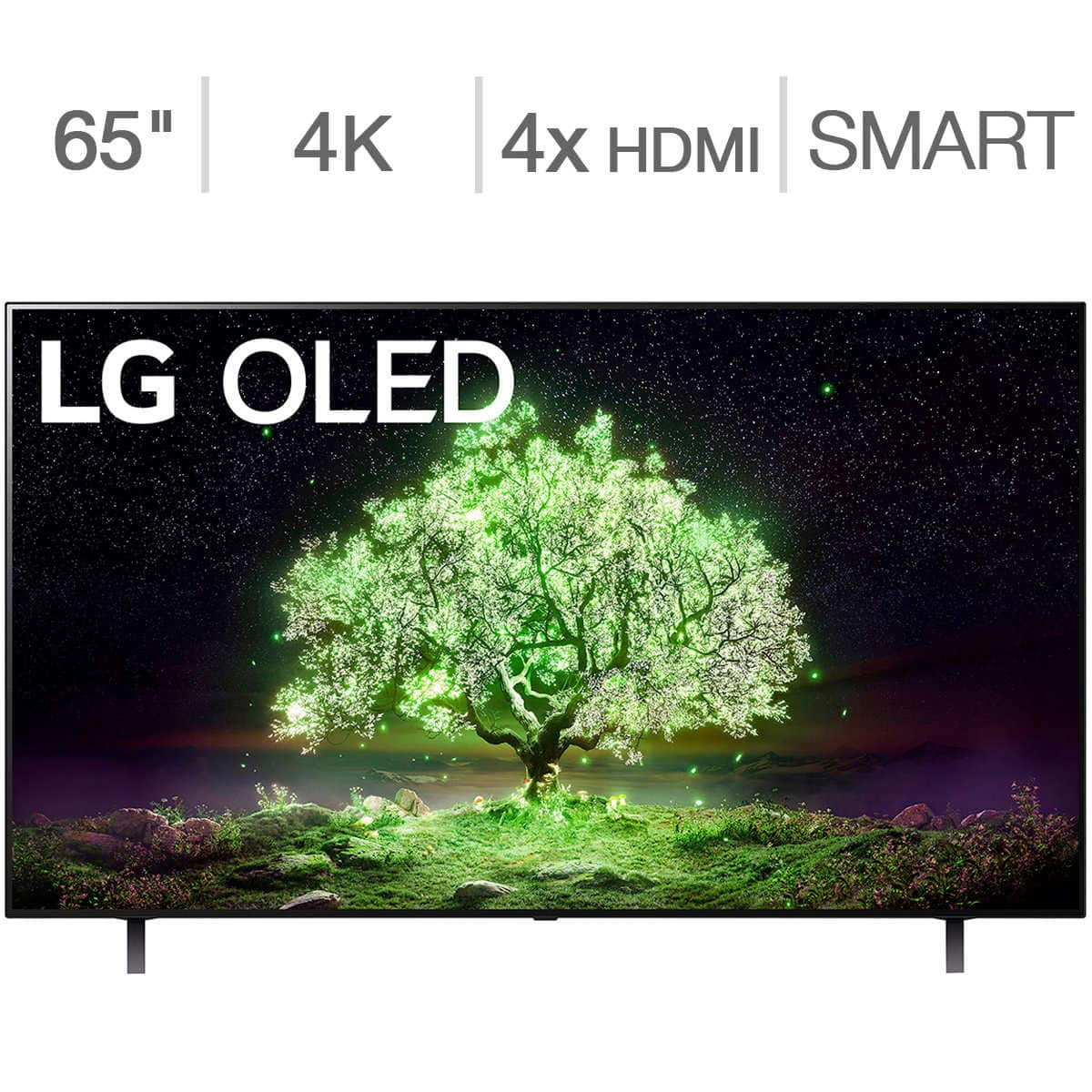 """LG 65"""" Class A1 Series OLED TV - Allstate Protection Plan Bundle Included $1599.99 at Costco"""
