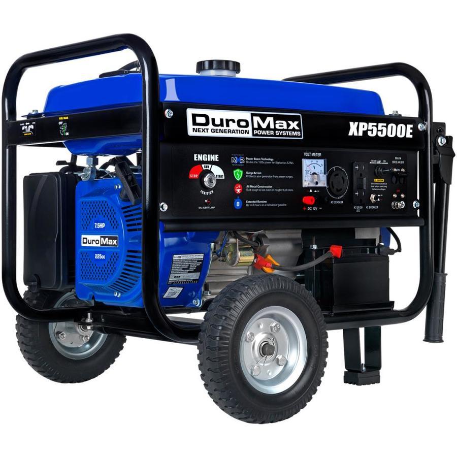 DuroMax XP5500E 5,500 Watt 7.5 HP Portable Electric Start Gas Generator - $399 + FS (12/4/19 only!)