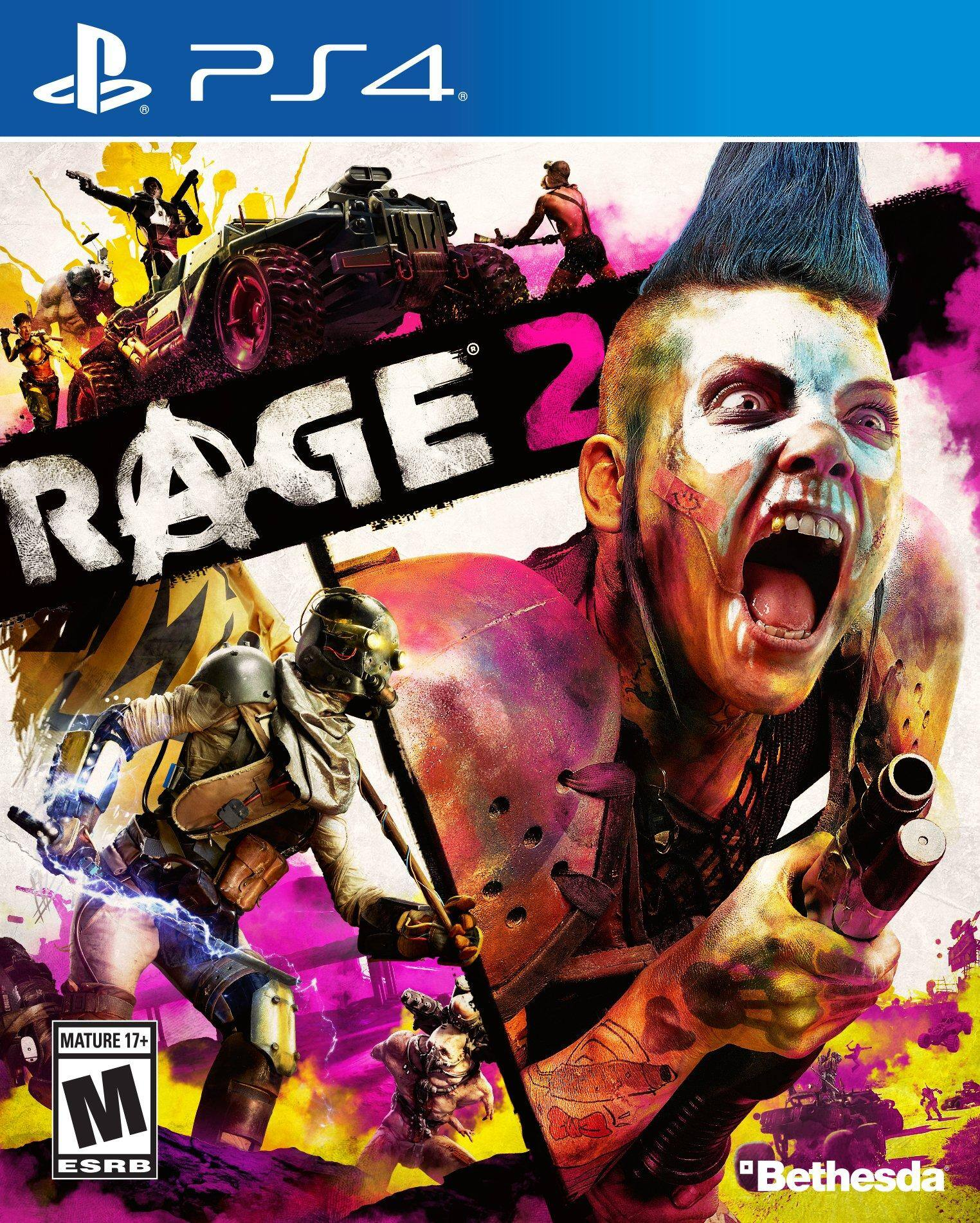 Rage 2 $10.00 Pre-Owned at Gamestop (PS4 and Xbox One)