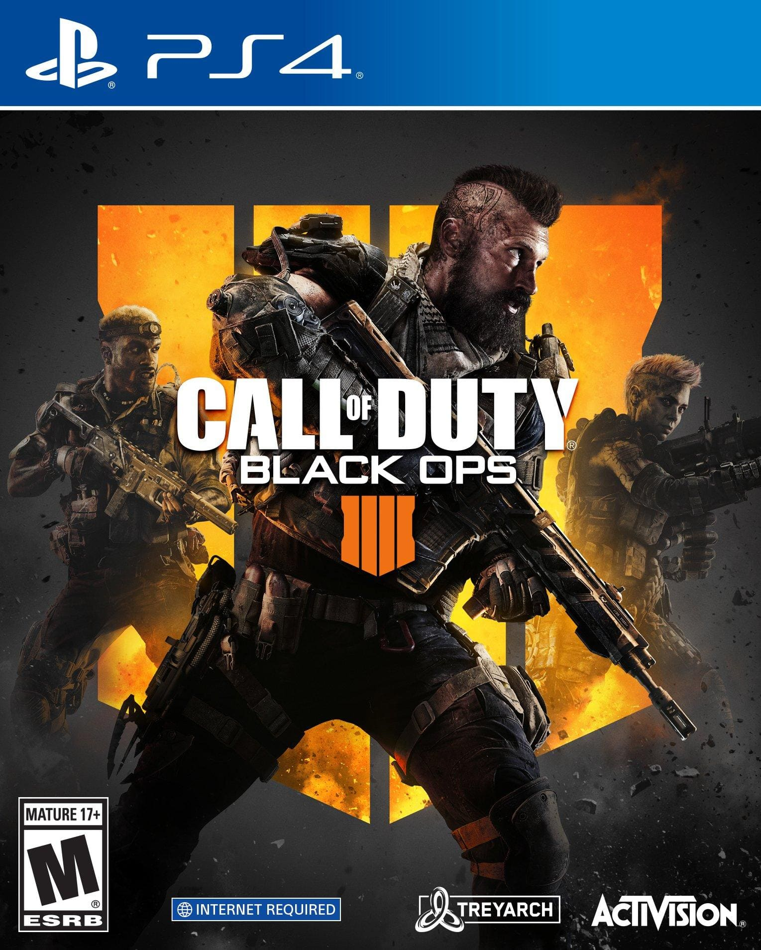 Call of Duty: Black Ops 4 $10.00 Pre-Owned at Gamestop (PS4 and Xbox One)