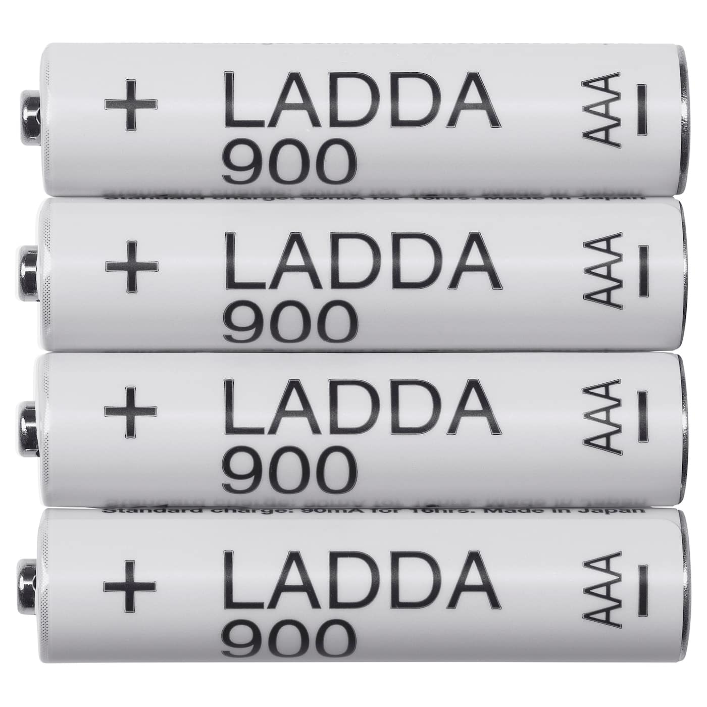 4-pk Ladda AAA 900mAh rechargeable batteries for $1.99 at IKEA B&M (Portland, OR), YMMV elsewhere